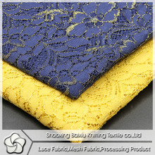 Beautiful gold line newest style lace wholesale
