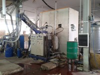 OMS PLANT FOR THE PRODUCTION BLOCKS OF POLYURETHANE RIGID FOAM