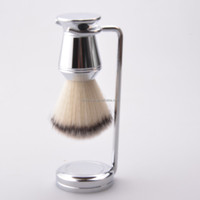 2016 best selling shaving brush with shaving stand, mens grooming shaving gift set