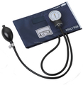 CE approved medical aneroid sphygmomanometer with single head stethoscope kit