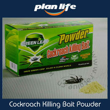 Green Leaf Insecticide Powder Cockroach Killing Bait (roach Killer) Low Poisonous