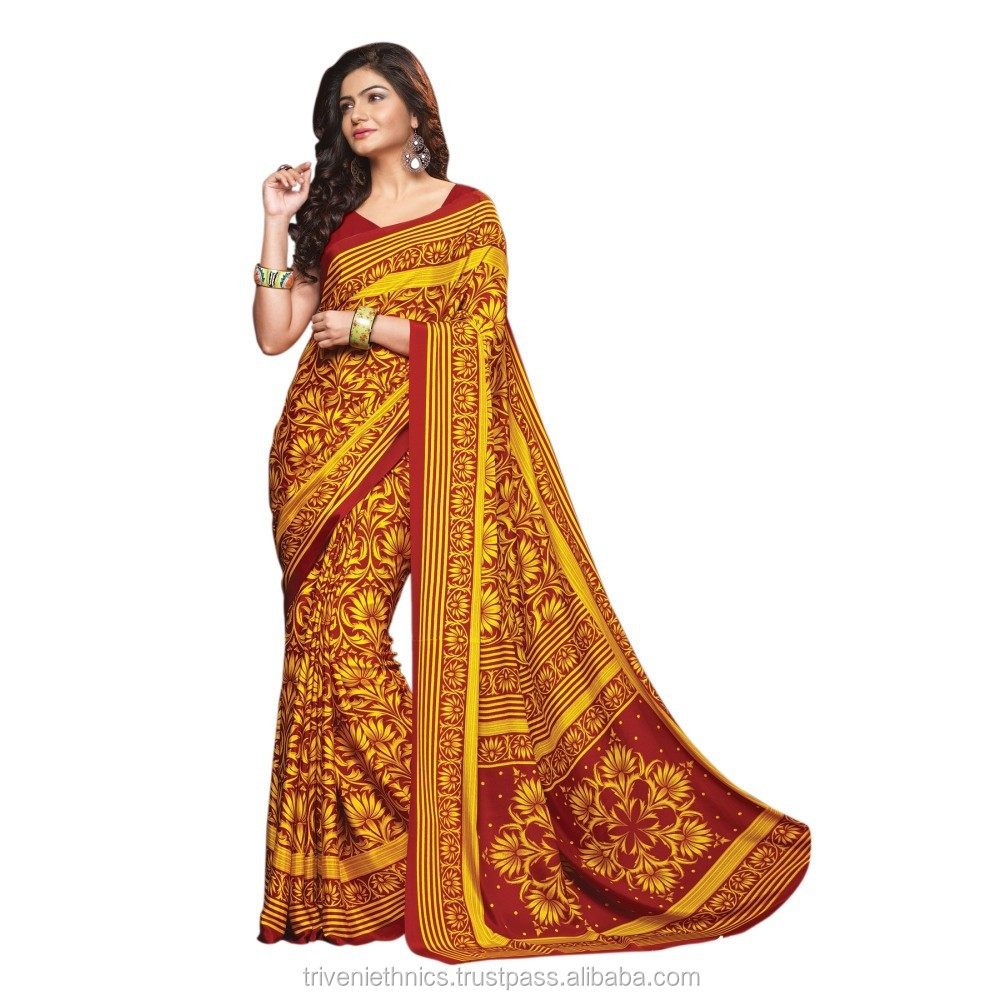 New designer casual wear Saree/Indian printed saree