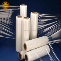 China supplier LLDPE Packing wrap plastic protective stretch film on roll