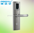 Zinc alloyhotel lock with smart card and software PY-8018-Y