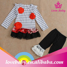 Childrens boutique clothing high quality new style wholesale turkish children clothing