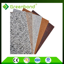 Greenbond diversified marble stone facade wall cladding panel