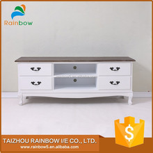 Modern living room lcd tv stand wooden modern table furniture
