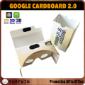 Custom printing virtual reality VR cardboard smart googles