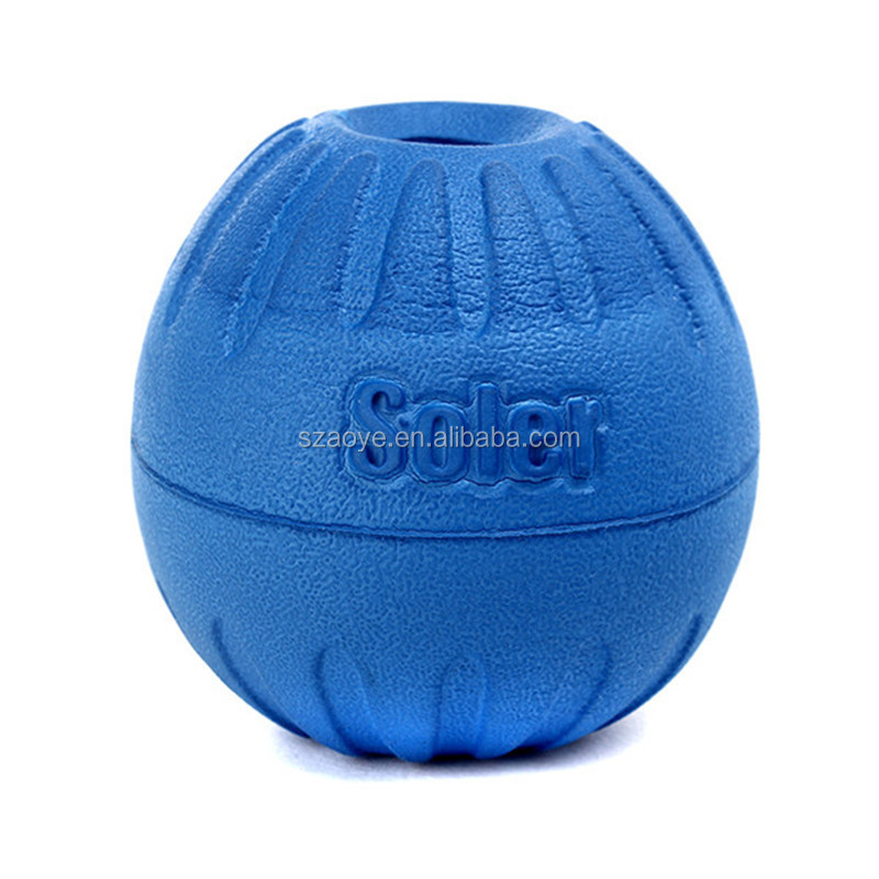 leakage food rubber ball pet toy vinyl toy pet dog ball