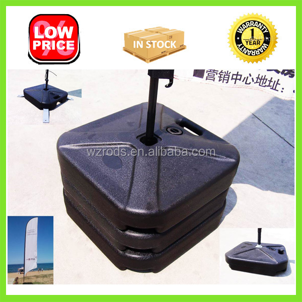 Popular PE Water Tank Base for Flag Pole, Base Filled with Water