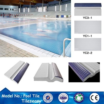 exterior wall bullnose full body swimming pool coping tile ceramic