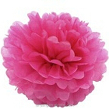 Tissue Paper Pompoms Handmade Wedding Decoration garland paper peony flower ball decoration