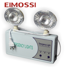 Wholesale 2 heads Non-maintained Wall mounted Emergency light with battery charging