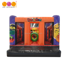 Outdoor mini jumping bouncy halloween inflatable bouncer for kids