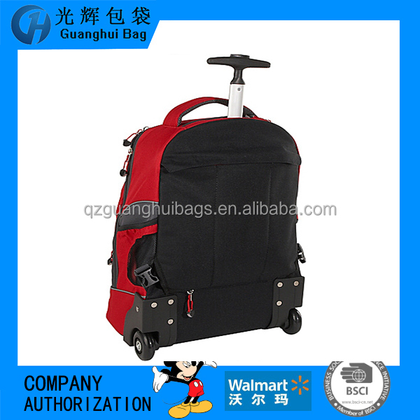 2166 High quality durable lightweight waterproof laptop kids school trolley bag
