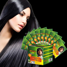 Low price and High quality natural black hair dye shampoo