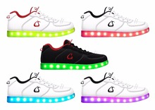 2016 Trendy Best Selling Mens Brand Sneaker Running Shoes LED Shoes
