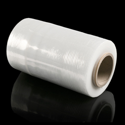 Transparent or Black or Blue PE Stretch Film for Pallet Wrapping Usage
