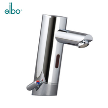 Bathroom brass hands free automatic sensor water tap instant heater water mixer tap electric faucet