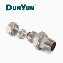 High Quality Brass Male Female Plug Thread Adapter Compression Fitting for PEX al PEX Pipe