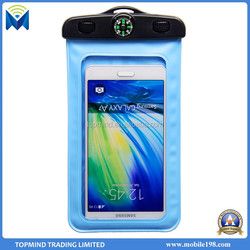 Waterproof mobile phone sling bag, pvc waterproof mobile phone pouch for samsung/ iphone