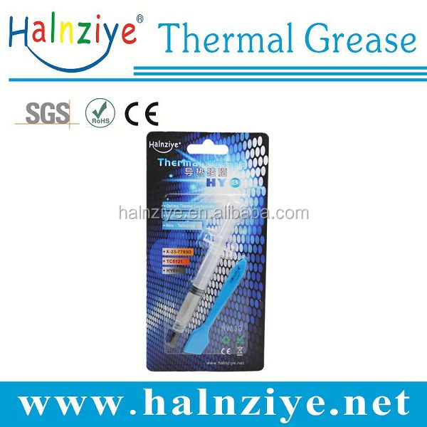high i7 thermal conductivity electric silicone grease compound paste for CPU VGA heat sink