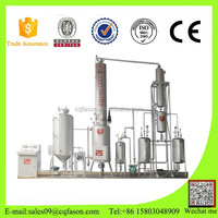 Durable in use Never change color waste used black diesel to new oil purifying machine