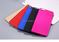 mult-color oem custom wholesale rubberized hard mobile phone pc case cover for phone 6