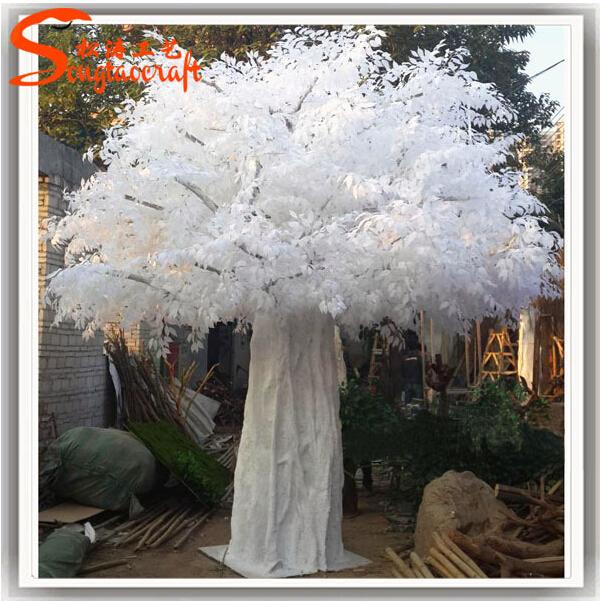 Fiber de verre artificielle blanc en bois branche d 39 arbre - Arbre decoratif pour mariage ...