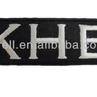 Customized Letters Logo Embroidery Patch At