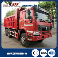 Lowest Price Sinotruk HVYA front lifting HOWO 6X4 dump truck