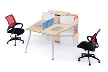 High end 2 person office partitions office workstation collection(FOH-D1516)