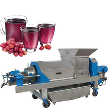 Commercial screw type apple cold press juicer machine