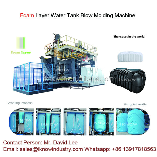 Foam Layer Water Tank Blow Molding Machine