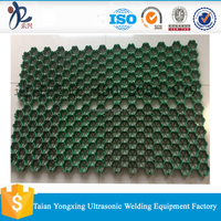 Plastic grass paver lawn grid, car parking grid, ground stabilization