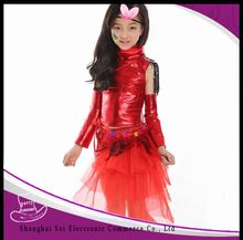Many styles latest design children's snowflake costume