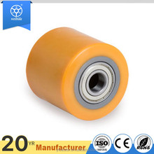 3 - 8 inch 800 MAX load PU pallet forklift wheels