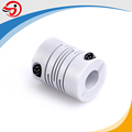 OD25mm 6.35*8mm bore aluminium beam coupling