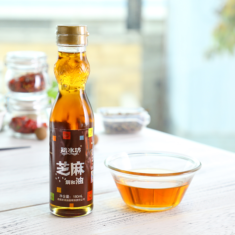 410ml 100% best price and quality refined sesame oil edible cooking oil