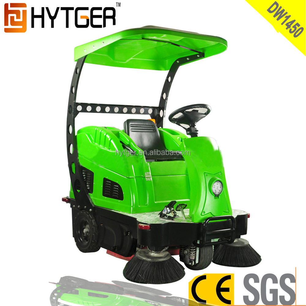 Electric Powered parking lot sweeper for sale Machine with Battery Charger