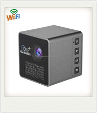 China Made UNIC LED DLP Pico Pocket OEM Cube Projector P1 with Battery