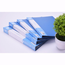 Display Book A4 20 Pocket Refillable document clear folder