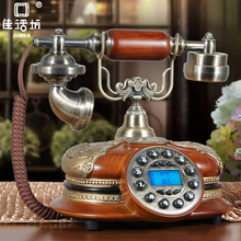 GBD-251C Cheap pretty antique corded wooden poly telephone for hotel home decor