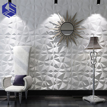KSL top quality 3d mdf wall panel wall grace design