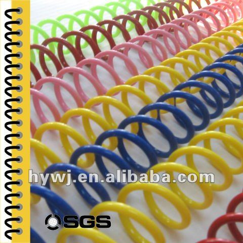 Office & School Supplies & Filing Products ring binder , plastic binder ring , 6mm to 51mm spiral plastic coil
