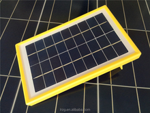 High Efficient Mini Solar Panel with Plastic Frame PV Panel PV Module Small Solar Panel with Low MOQ 3w