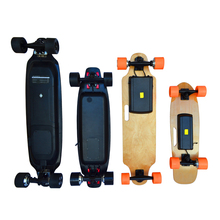 Newest dual motor electric skateboard one wheel electric skateboard battery 36v for adult