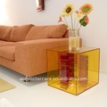 Frosted Perspex/Acrylic cube end table