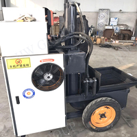 Manual cement grouting pump concrete cement screw mortar pump for sale