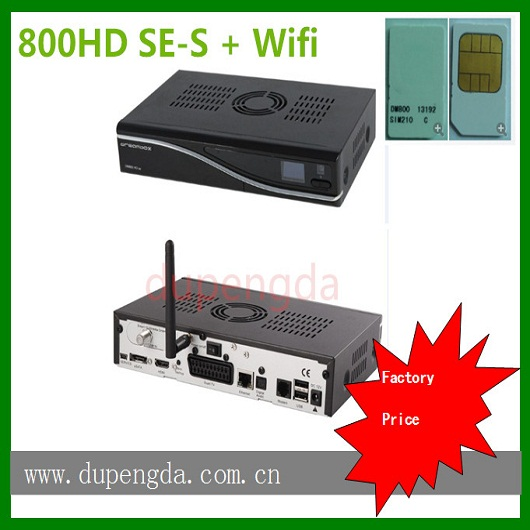 <strong>satellite</strong> internet receiver 800HD SE 2.10 simcard with wifi